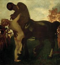 Stuck, Centaur und Nymphe/ 1895 von AKG  Images