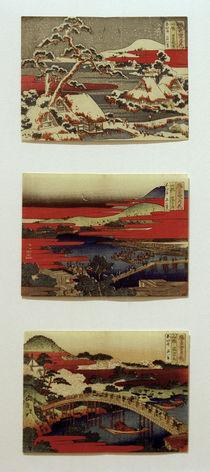 Hokusai, Serie Schnee, Mond und Blumen ... 1830–1833 by AKG  Images
