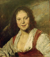 M.Liebermann n. Frans Hals, Bohémienne von AKG  Images