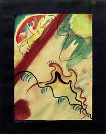 Kandinsky, The Blue Rider, Title design by AKG  Images