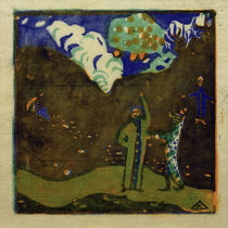 Apple Tree / W. Kandinsky / Woodcut 1911 by AKG  Images