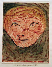 Paul Klee, Mask, Old Woman / 1938 by AKG  Images