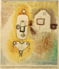 P.Klee, Policeman in front of his House by AKG  Images