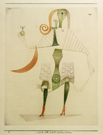 Paul Klee, Weibl. Kostüm-Maske, 1924 von AKG  Images