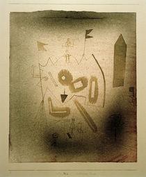 Paul Klee, Seltsames Theater, 1929 von AKG  Images
