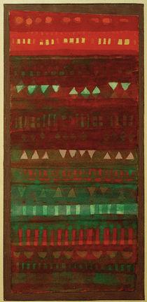 Paul Klee, Kleinglieder in Lagen, 1928 von AKG  Images