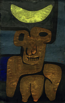 P.Klee, Luna of the Barbarians / 1939 by AKG  Images