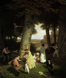 The Playground / J.L. Agasse / Painting 1830 by AKG  Images