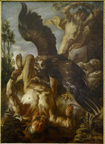 Jacob Jordaens, Gefesselter Prometheus von AKG  Images