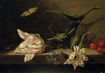 J.Marrell, Stillleben mit Blumen von AKG  Images