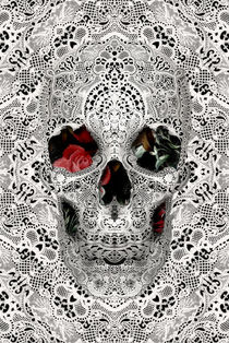 Lace Skull Light by Ali GULEC