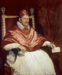 Portrait of Pope Innocent X von Diego Rodriguez de Silva y Velazquez