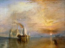 The Fighting Temeraire, 1839 von Joseph Mallord William Turner