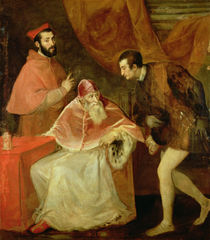 Pope Paul III and his Nephews by Titian