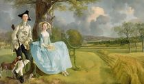 Mr and Mrs Andrews, c.1748-9 by Thomas Gainsborough