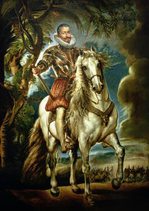 Equestrian portrait of the Duke of Lerma 1603 von Peter Paul Rubens