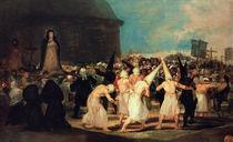 Procession of Flagellants, 1815-19 by Francisco Jose de Goya y Lucientes