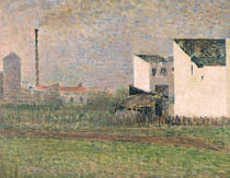 Suburb, c.1882 by Georges Pierre Seurat