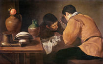 Two Men at Table, c.1620-21 von Diego Rodriguez de Silva y Velazquez