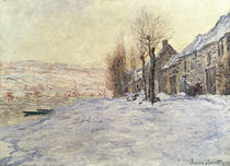Lavacourt under Snow, c.1878-81 von Claude Monet