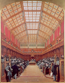 Interior of the House of Commons by Joseph Nash