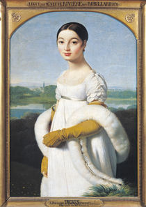 Portrait of Mademoiselle Caroline Riviere 1805 by Jean Auguste Dominique Ingres