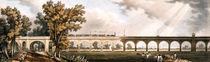 London to Greenwich Railroad showing the viaduct von English School