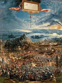 The Battle of Issus, or The Victory of Alexander the Great by Albrecht Altdorfer