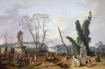 The Gardens of Versailles by Hubert Robert