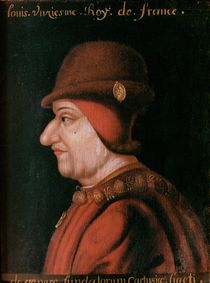 Louis XI by French School