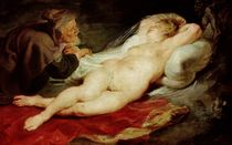 The Hermit and the sleeping Angelica von Peter Paul Rubens