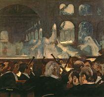 The ballet scene from Meyerbeer's opera 'Robert le Diable' von Edgar Degas