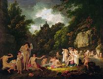 The Mermaids' Haunt, 1804 by Julius Caesar Ibbetson