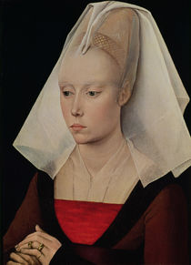 Portrait of a Lady, c.1450-60 by Rogier van der Weyden