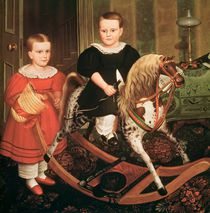 The Hobby Horse, c.1840 von North American