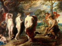 The Judgement of Paris, c.1632-35 von Peter Paul Rubens