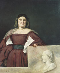Portrait of a Lady , c.1510-12 by Titian