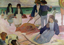 Seaweed Gatherers, 1889 von Paul Gauguin