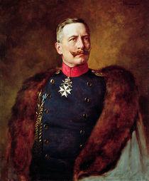 Portrait of Kaiser Wilhelm II von Bruno Heinrich Strassberger