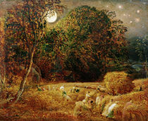 Harvest Moon by Samuel Palmer