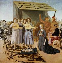 Nativity, 1470-75 by Piero della Francesca