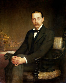 Lord Northcote by Edwin Longsden Long