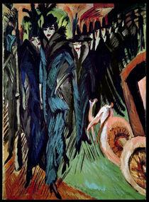 Friedrichstrasse, 1914 by Ernst Ludwig Kirchner