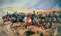 Charge of the Light Brigade von Richard Caton II Woodville