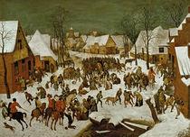 Massacre of the Innocents, 1565-66 by Pieter the Elder Bruegel