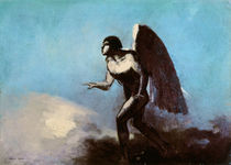 The Winged Man or, Fallen Angel by Odilon Redon