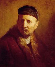 Study of a Man's Head by Rembrandt Harmenszoon van Rijn