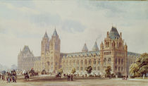 Natural History Museum by Alfred Waterhouse