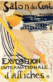Poster advertising the 'Exposition Internationale d'Affiches' von Henri de Toulouse-Lautrec