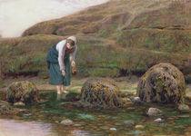 The Winkle Gatherer, 1869 von John Dawson Watson